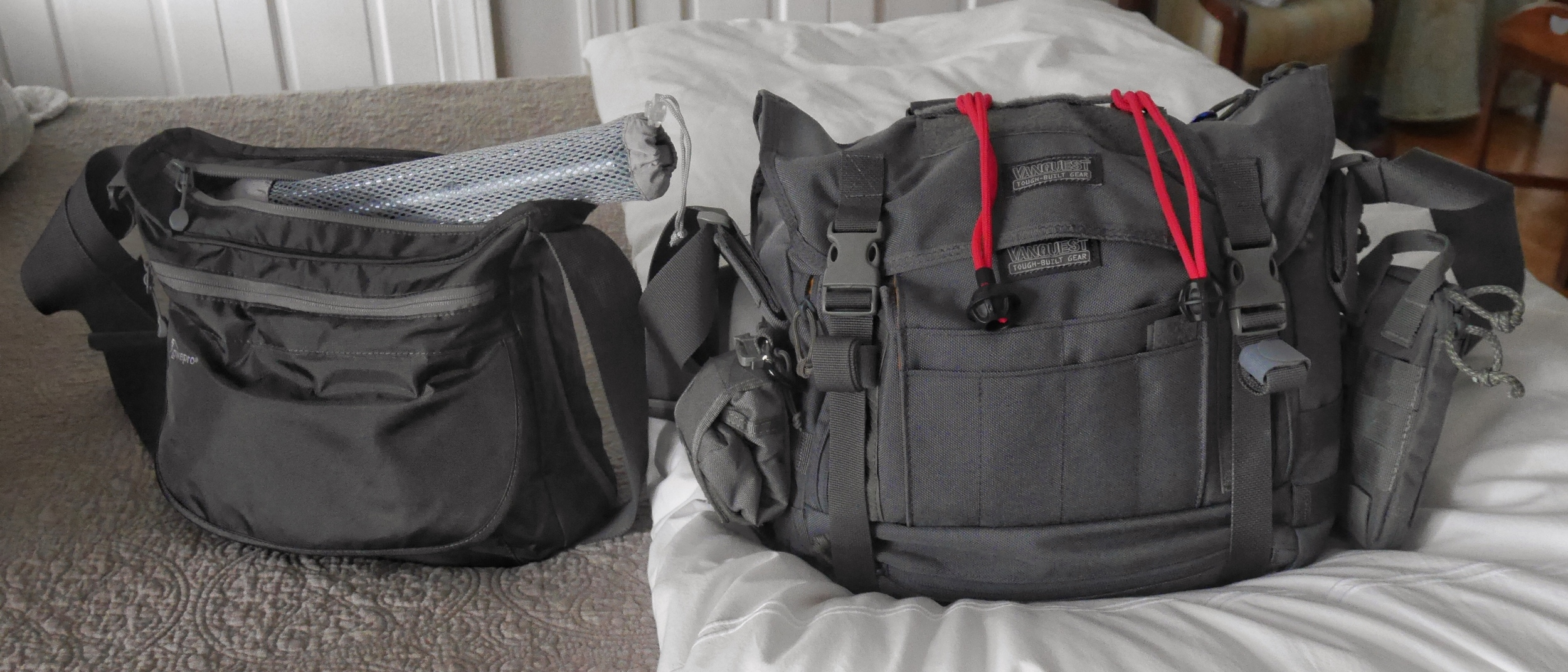 Lowepro Streamline 250 and Vanquest SKITCH-12 ready to go!