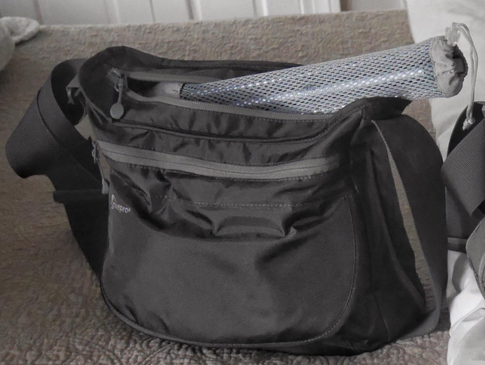 My small Lowepro Streamline 250 bag