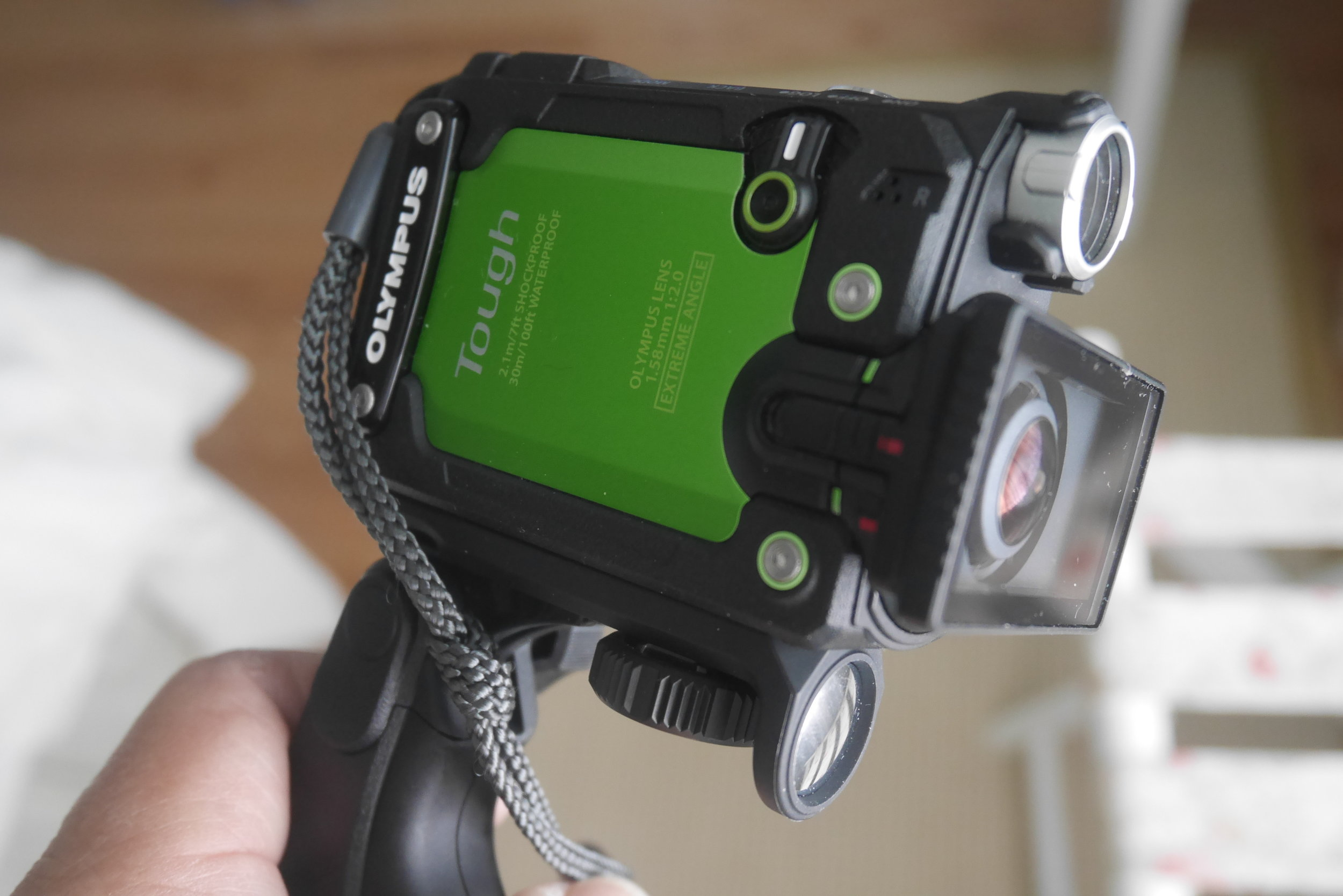 Olympus Tough TG-Tracker - Sell or Keep?