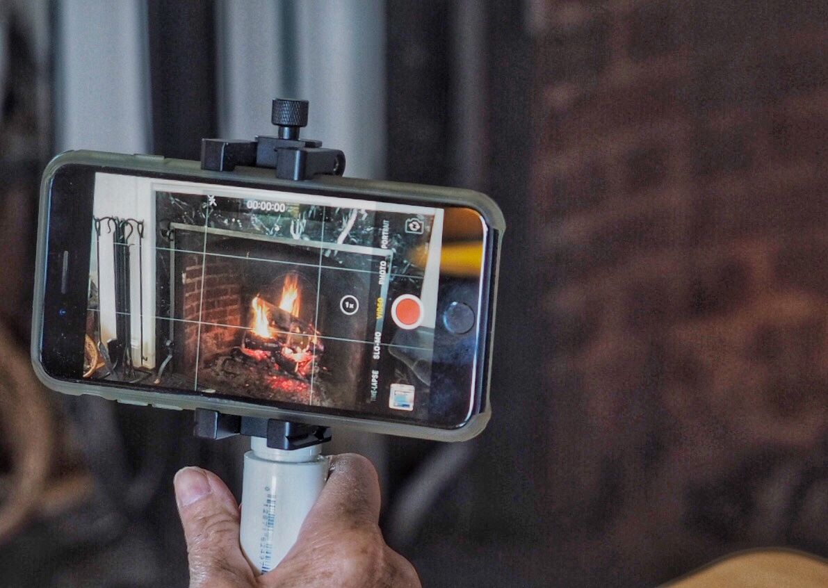 Smartphone holders help you get more stable videos.