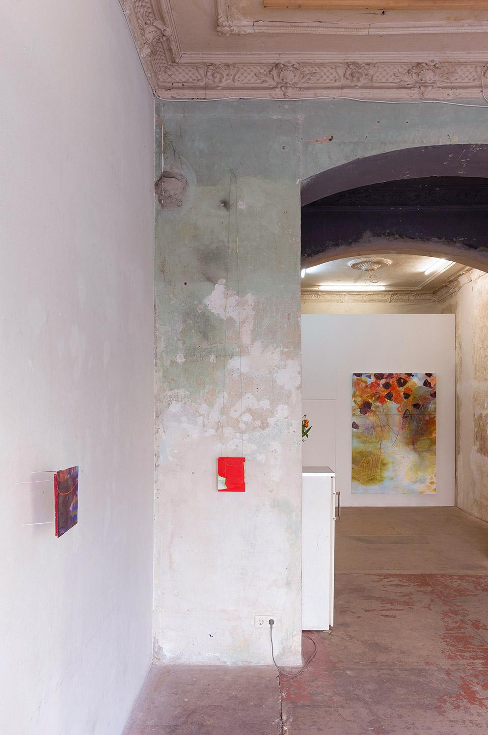 Installation view tête, Berlin 2015