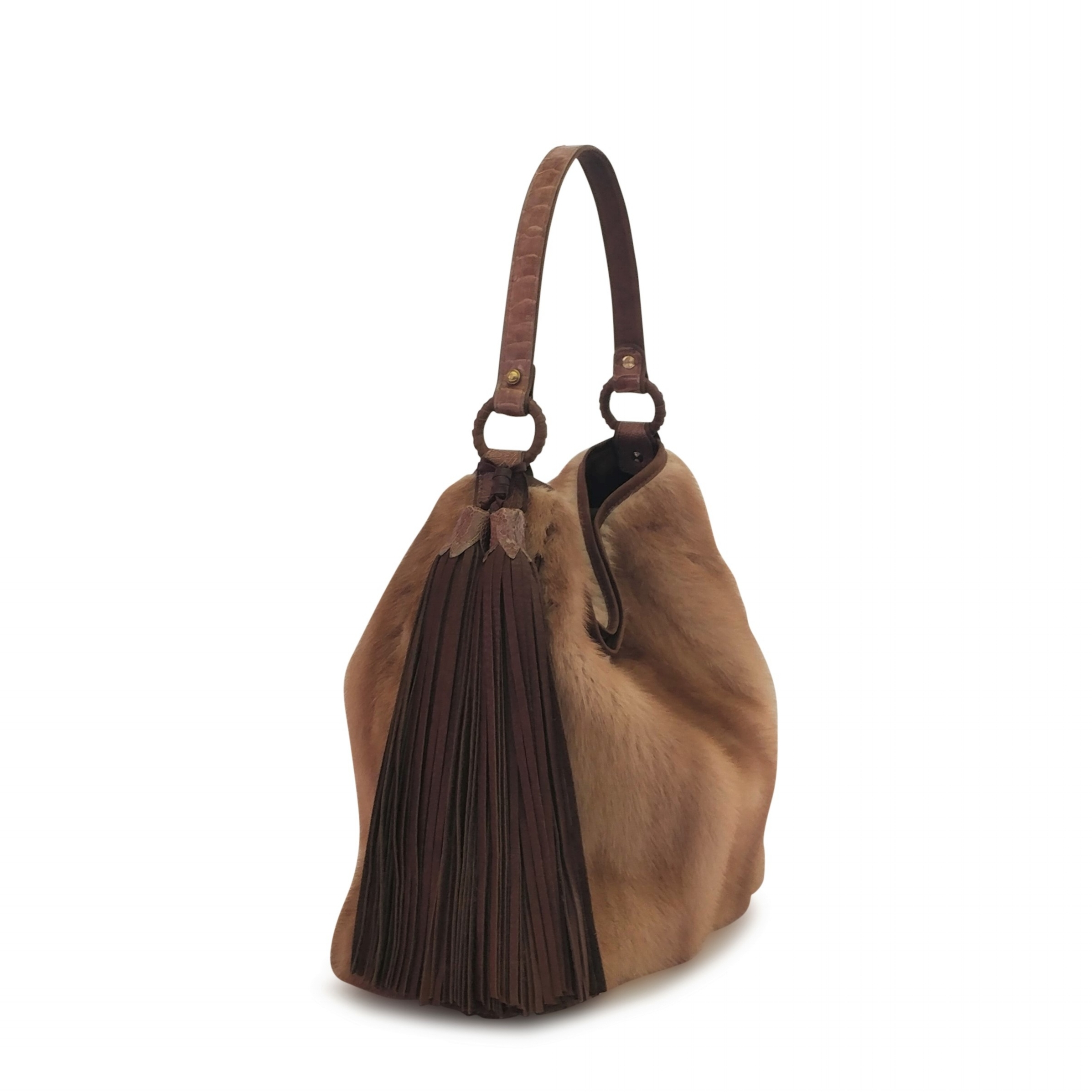 WHAT'S YOUR DREAM? - TG wanted a bag created from a mink coat her mother had given her long ago. The only one of its kind.