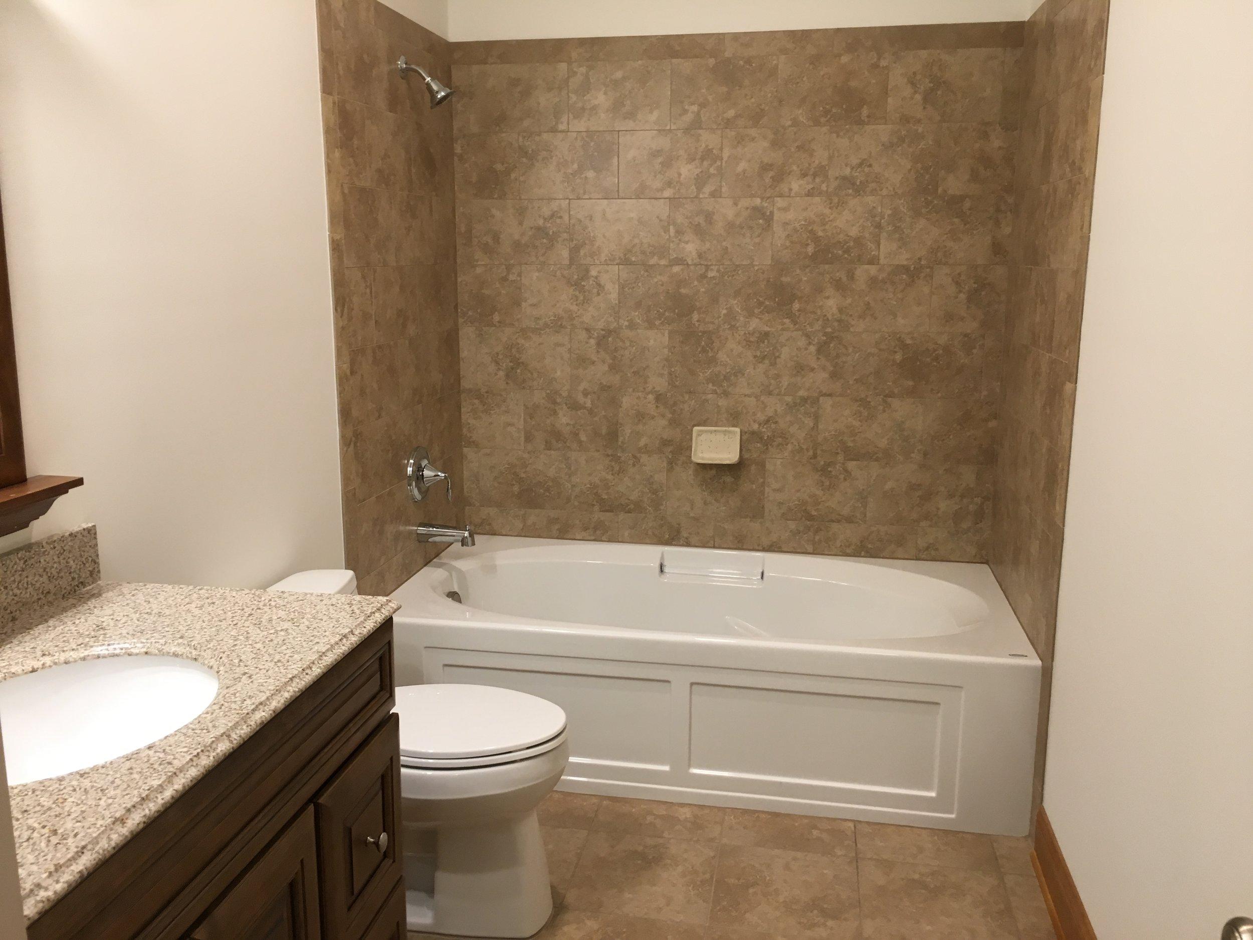 Bathroom #2 Tub with Shower