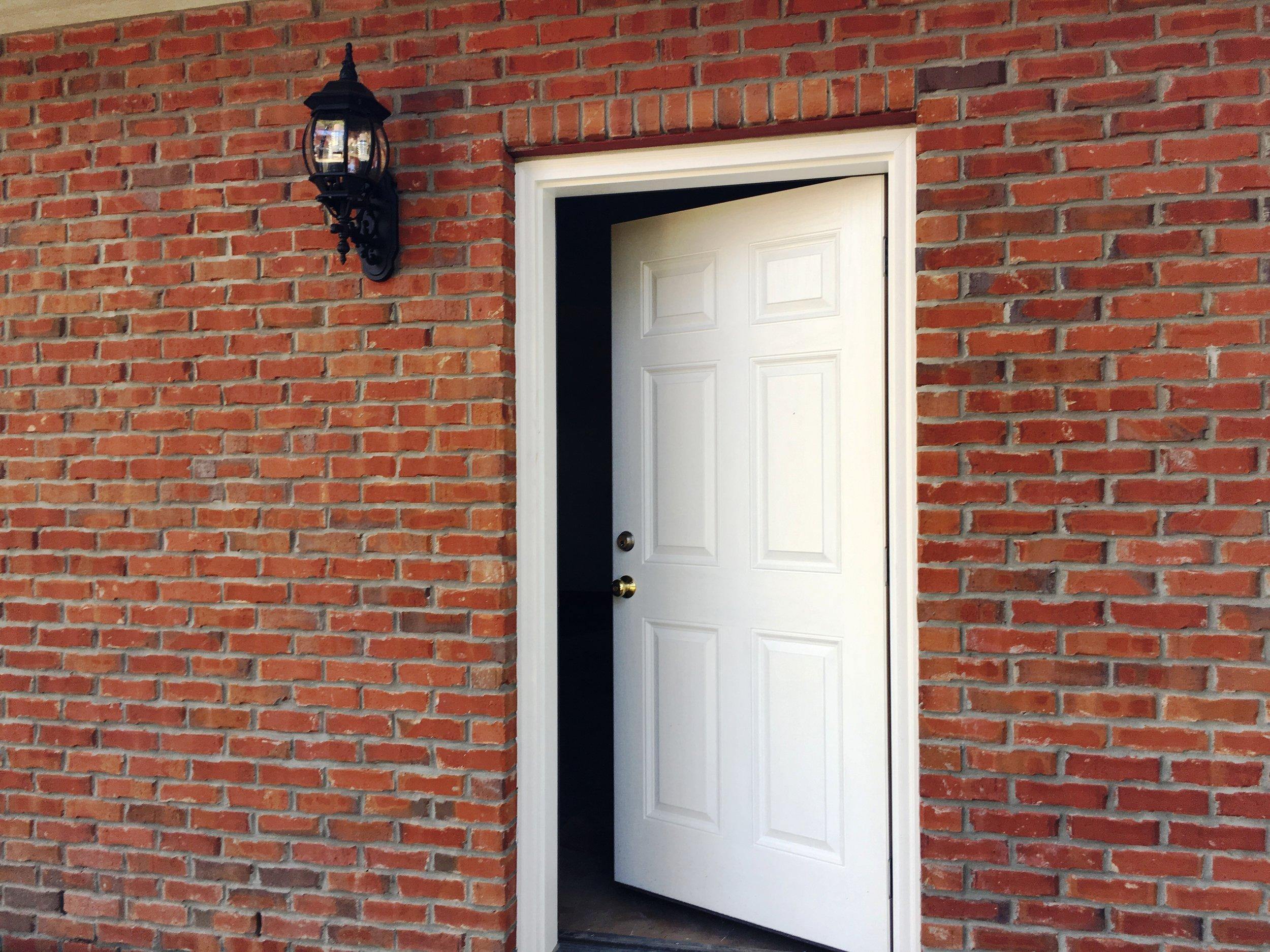 Garage Side Door