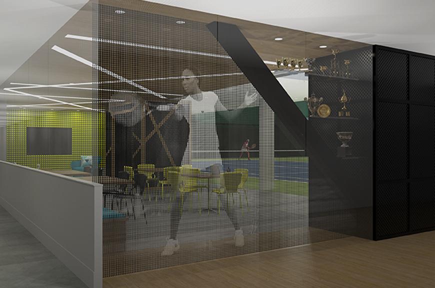 V Starr Interiors | Midtown Athletic Club
