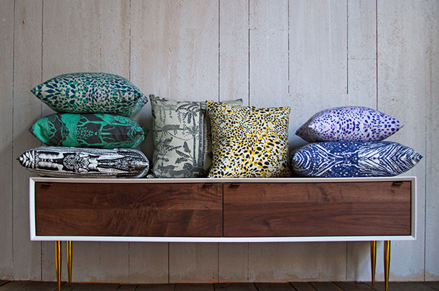 Aimée Wilder | Pillows And Poufs
