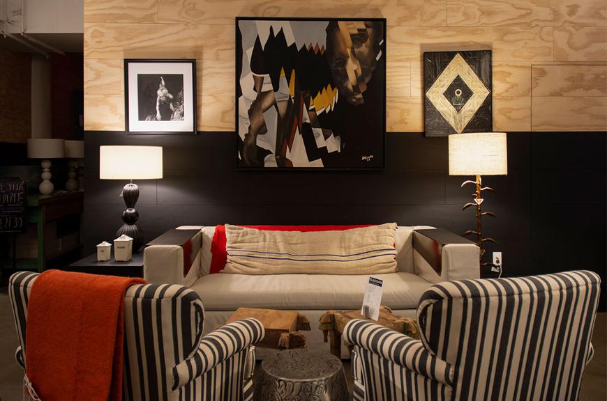 BLACKBARN shop, cafe + bar Anniversary Redesign + Lounge
