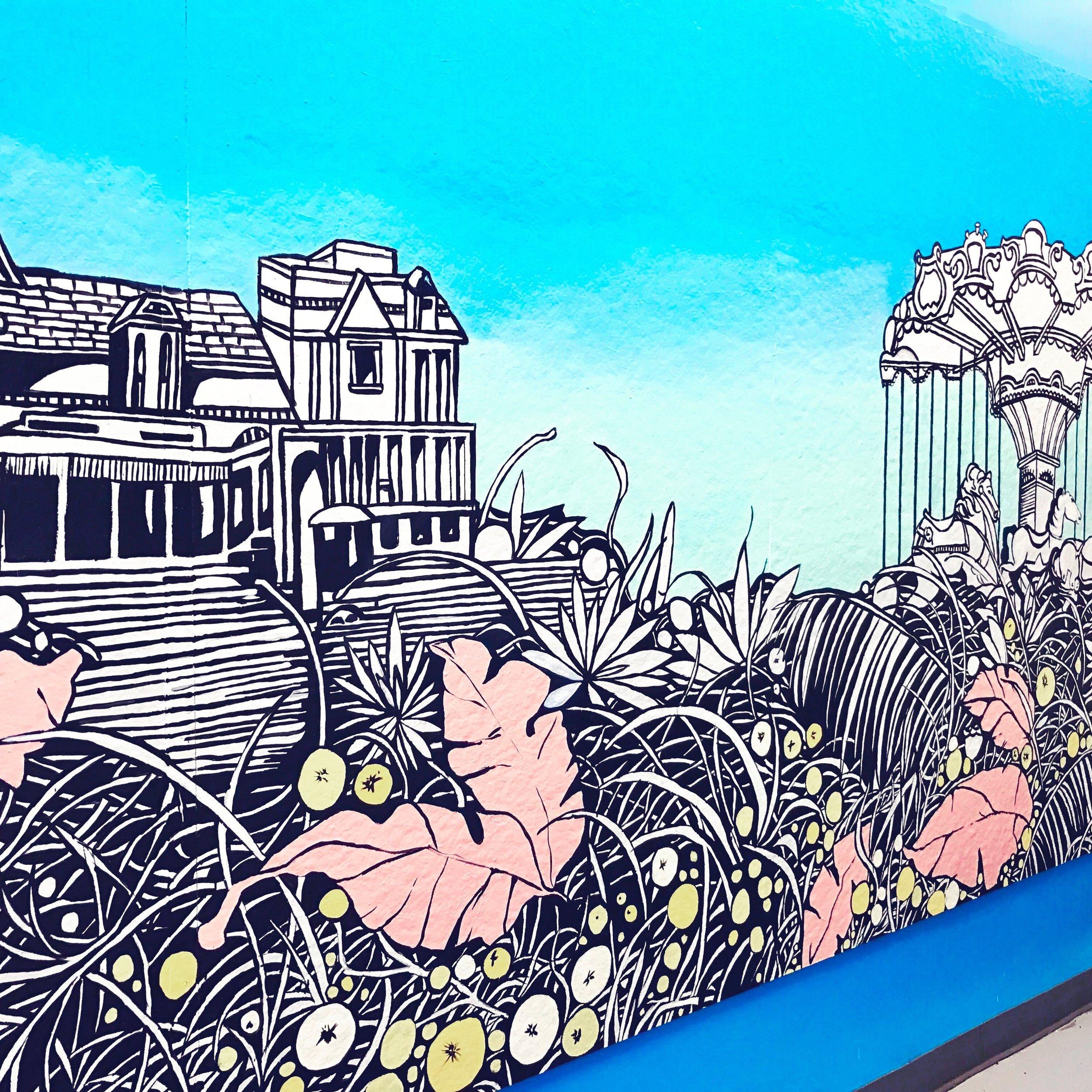 Photo Priscila De Carvalho, Mural (detail image), 2017