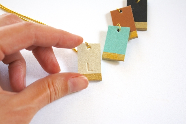 """Tags may be """"gold"""" dipped (hand painted) for an additional $1 each."""
