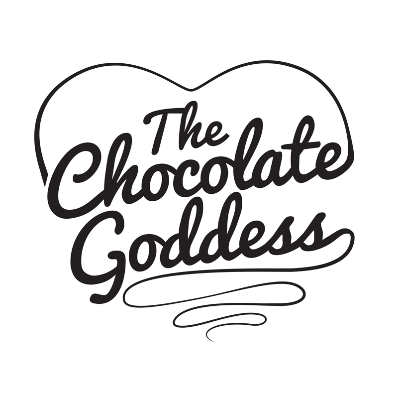 kaywaal :      Logo design  for  The Chocolate Goddess      Find February's recipes for 5-Minute Fudge , Whoopie Pies , a post about puppies Cocoa + Truffle , and my first Chocolate Goddess EXCLUSIVE Video all in the most recent posts on the site!