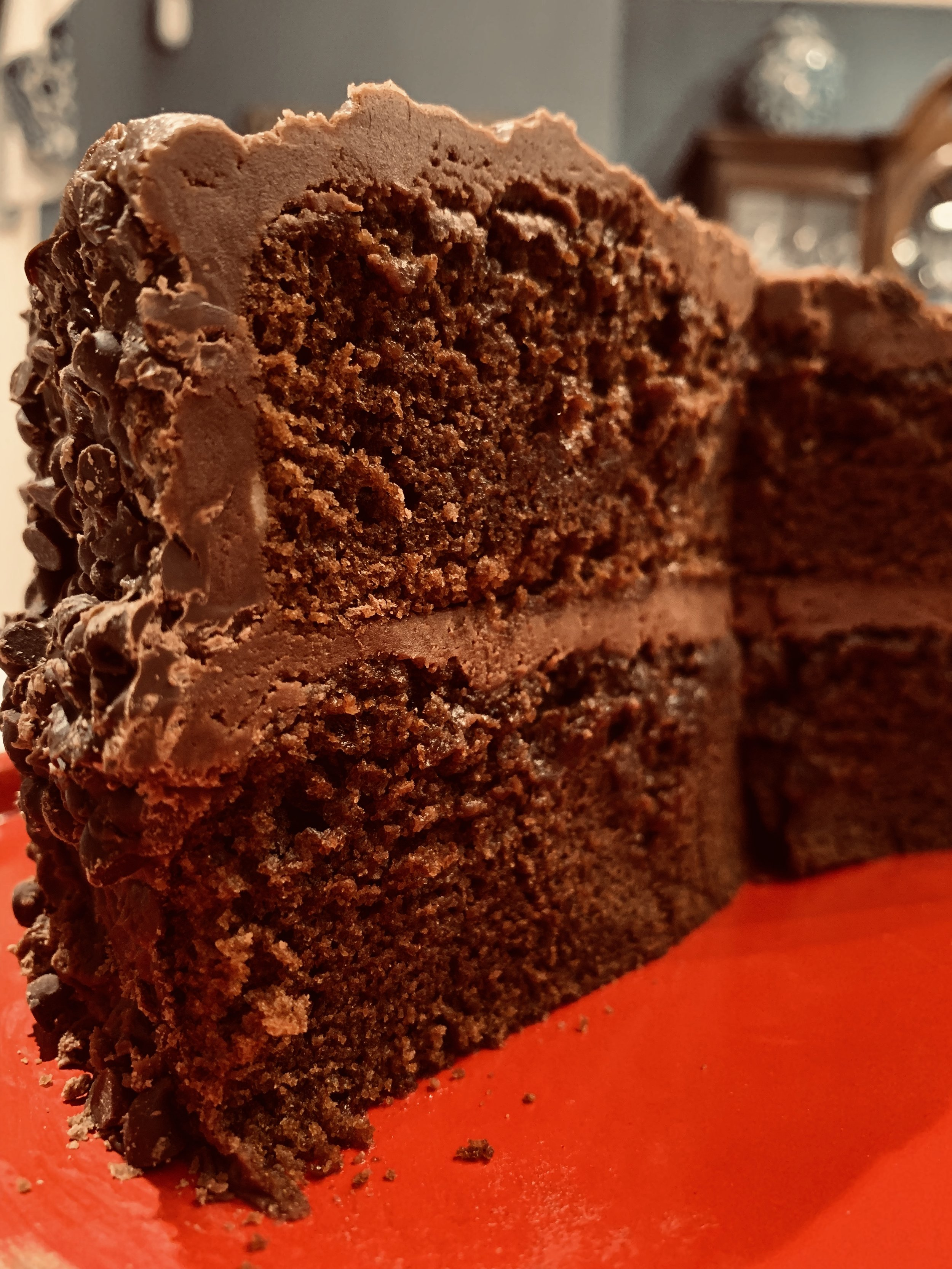 - Paul's Chocolate Fudge CakeAmped Up WithOld Fashioned Boiled Chocolate Fudge Frosting and Mini Chocolate Chips