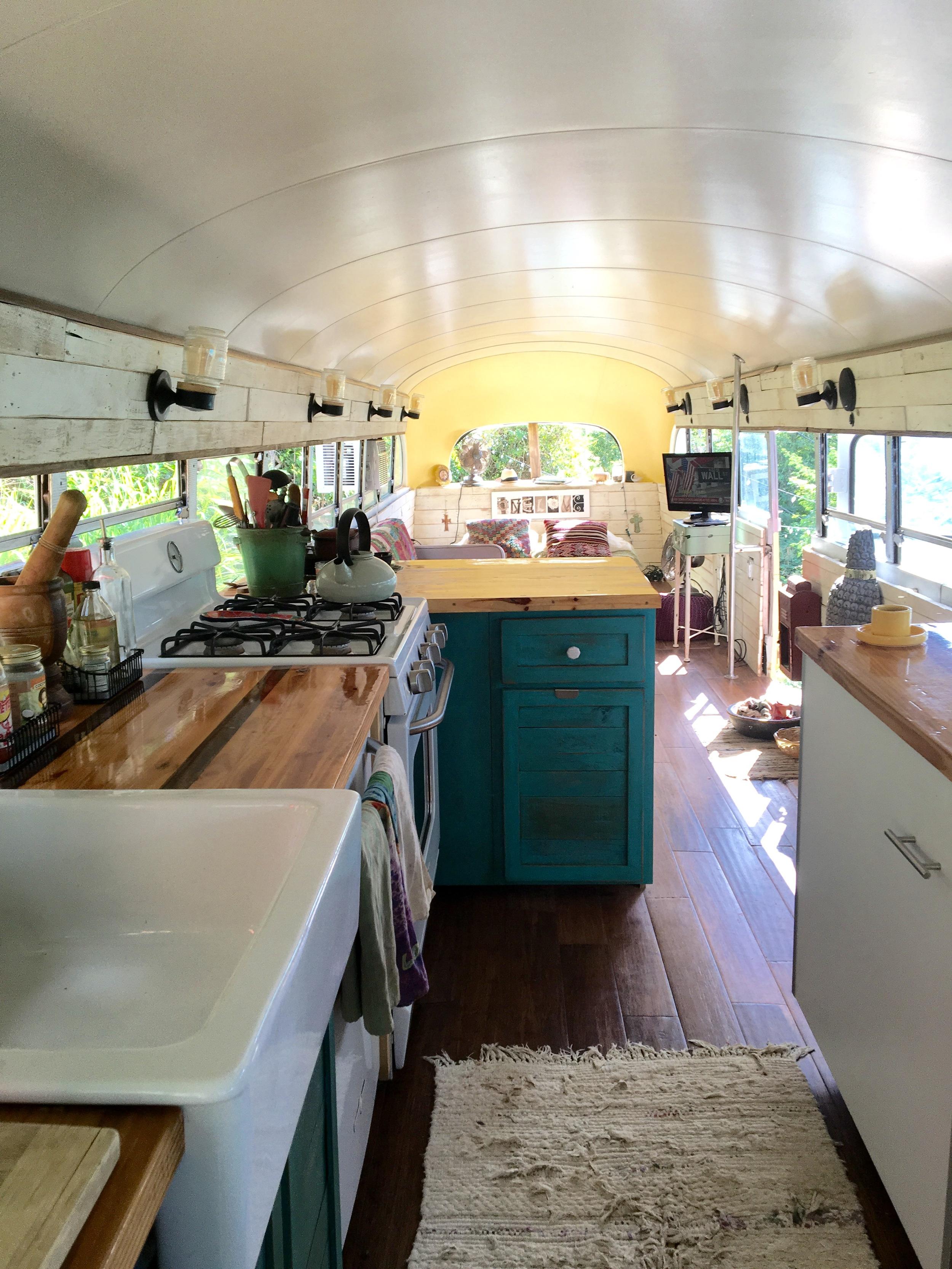 One Love Bus Kitchen