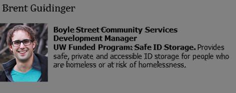 Brent Guidinger, Development Manager, Boyle Street Community Services