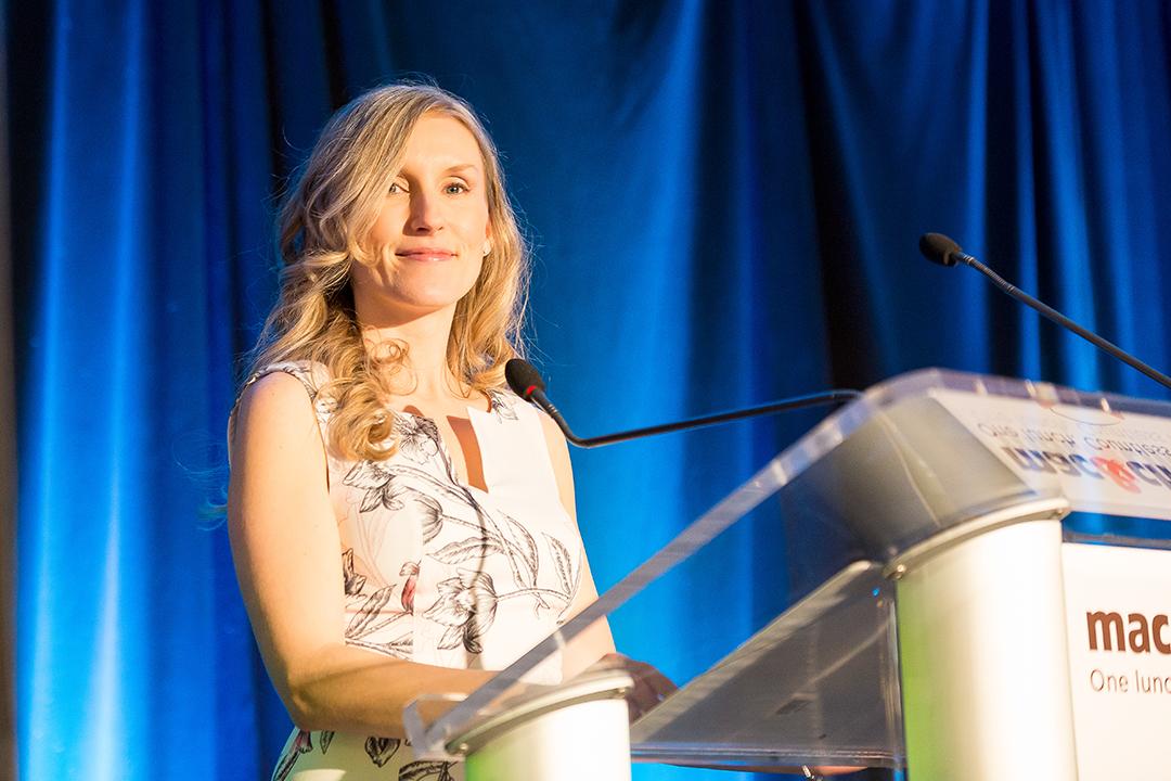 Keynote Speaker, Amanda Dauvin, 23rd annual Mac & Cheese Luncheon
