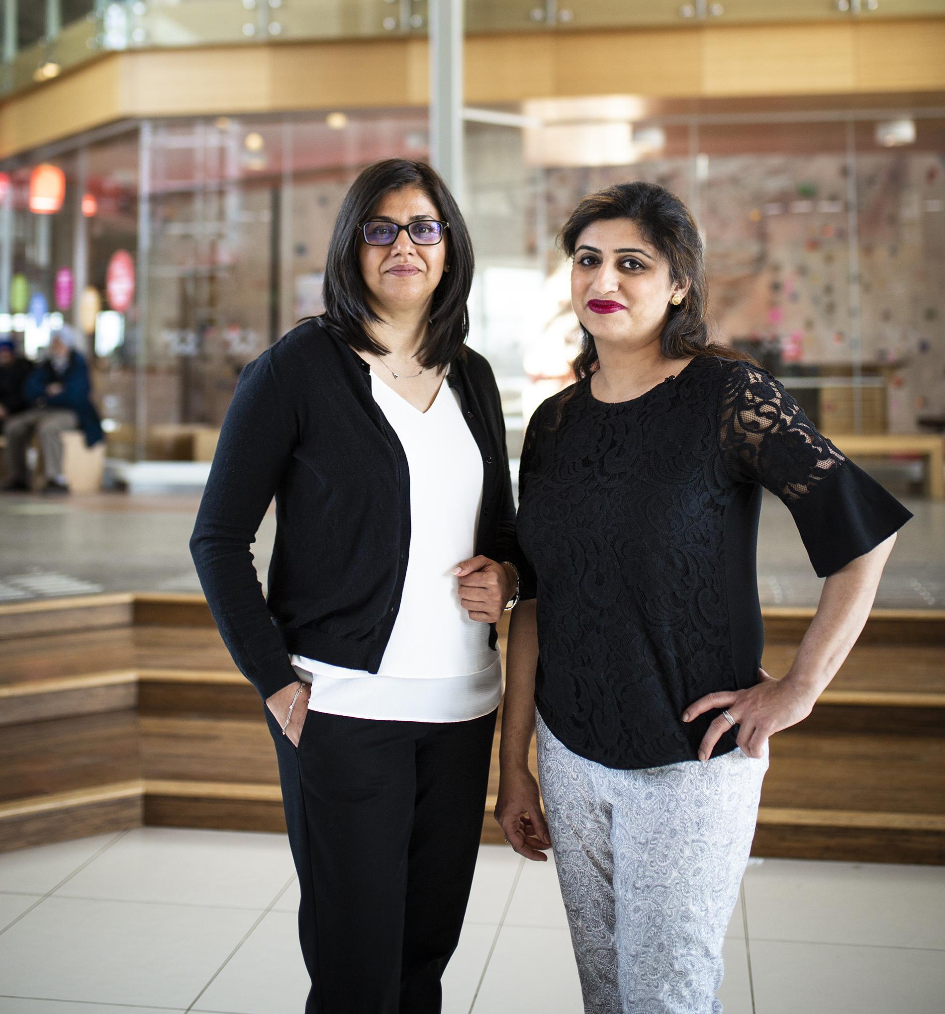 Atiya encourages women like Humaira to seek help and break free from domestic violence.