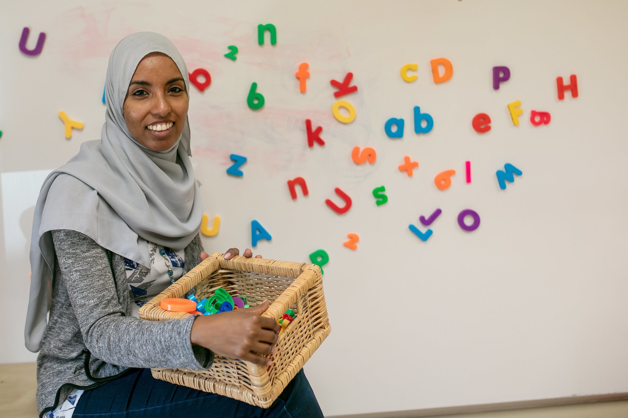 Ekram Ahmed's son Yael overcame his speech delay through guided play at Early Start .