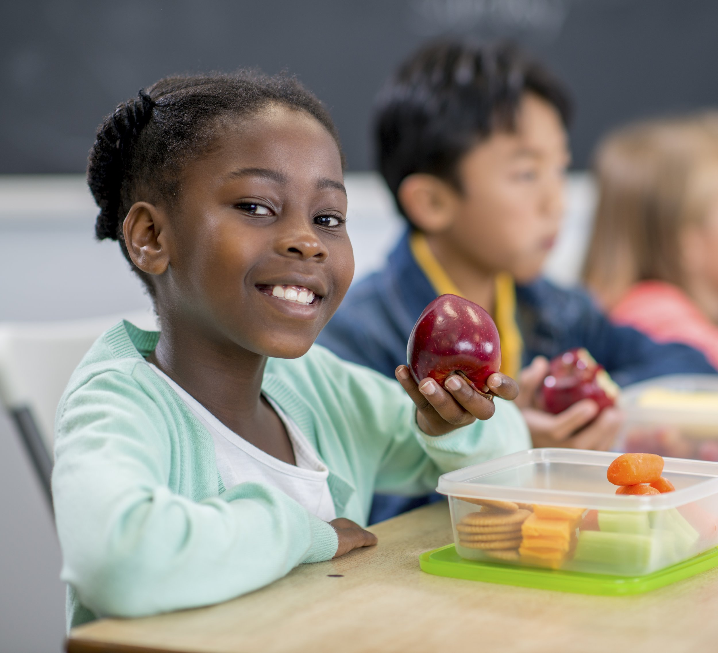 School nutrition program provides healthy snacks for students