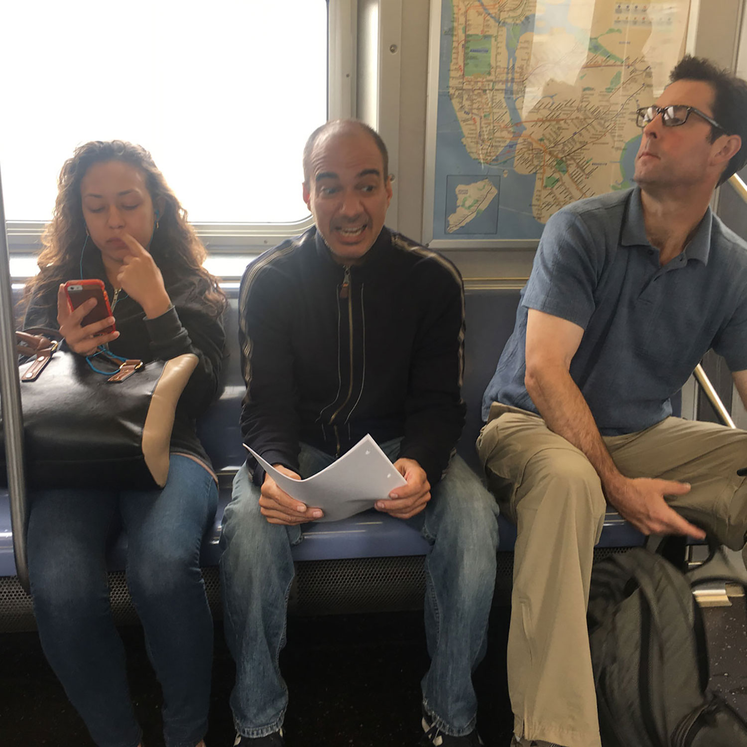 Lines. Subway. Rent Control. A new play by Evan Zes premiering at FringeNYC August 2016.