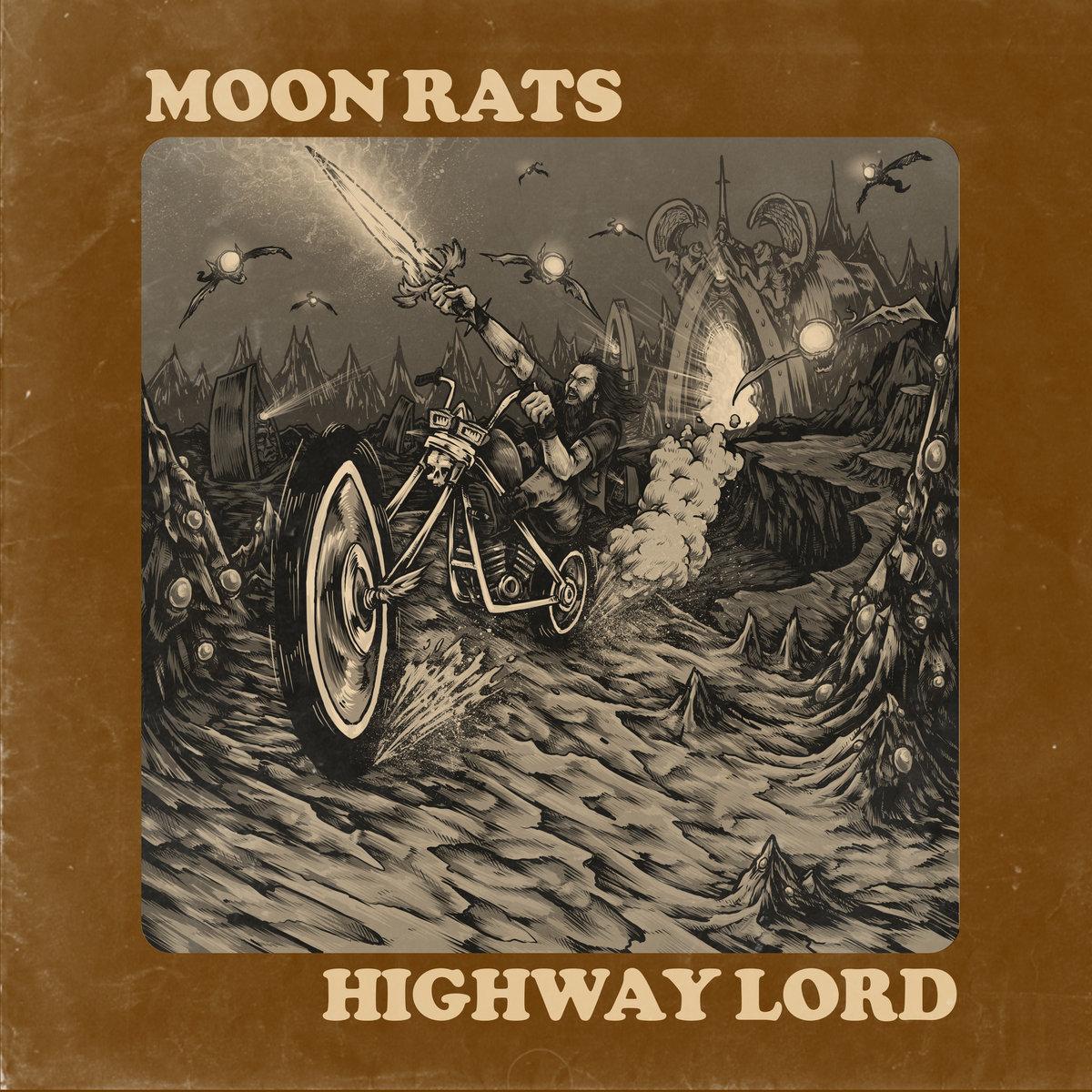 GLS027 - Moon Rats - Highway Lord