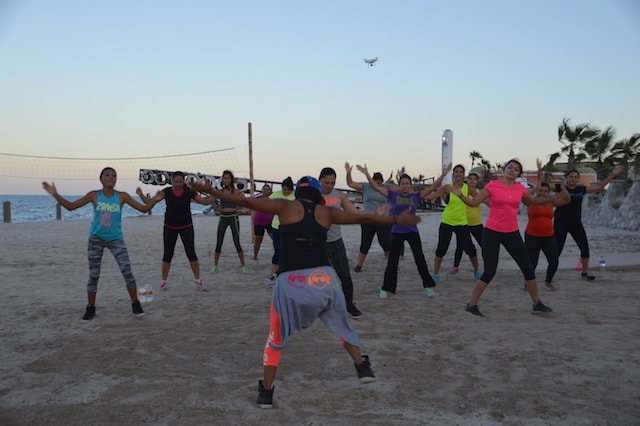 <strong>Zumba on the Beach</strong>