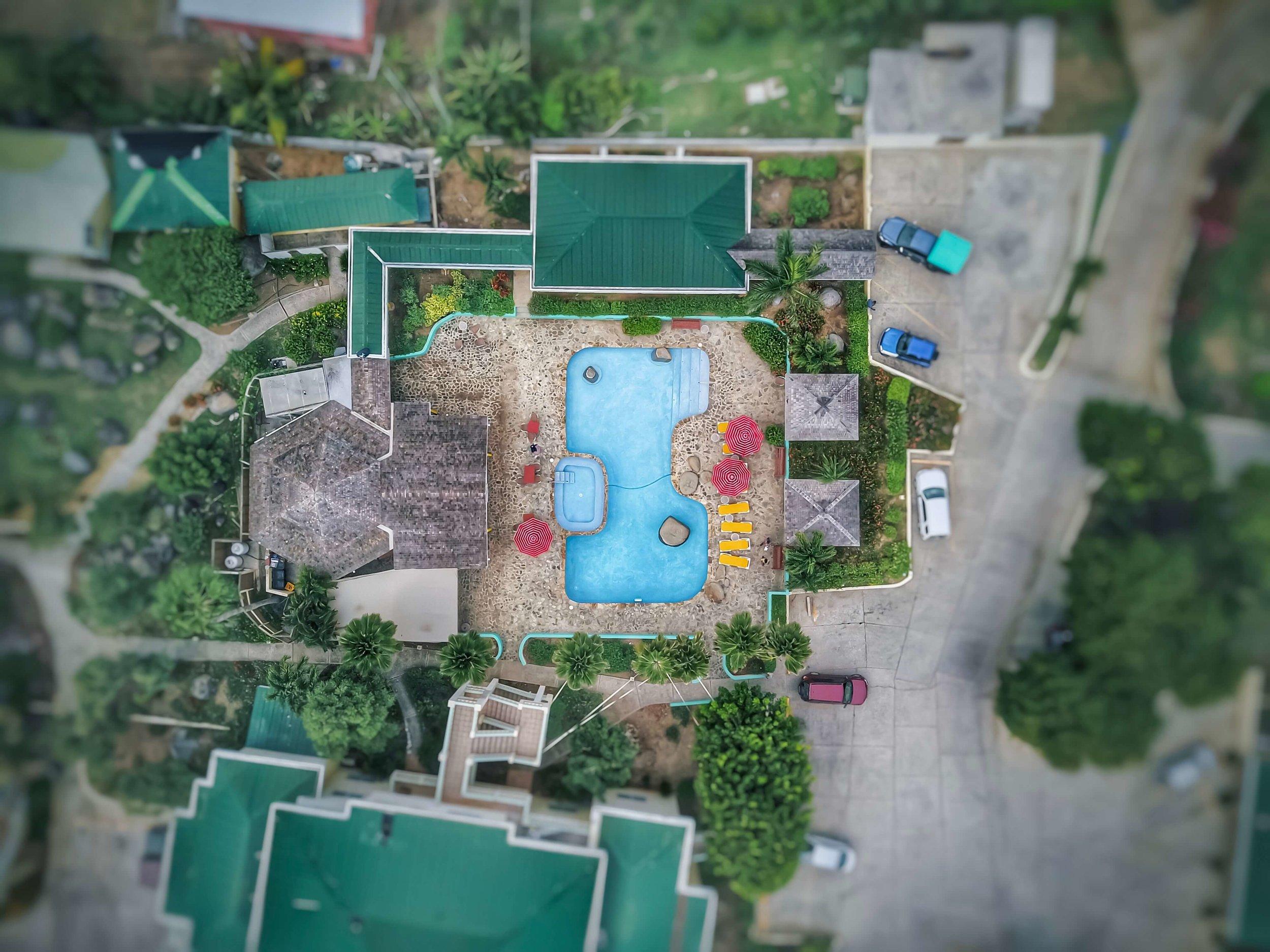 Aerial of our Classroom Location, Olde Yard, Virgin Gorda