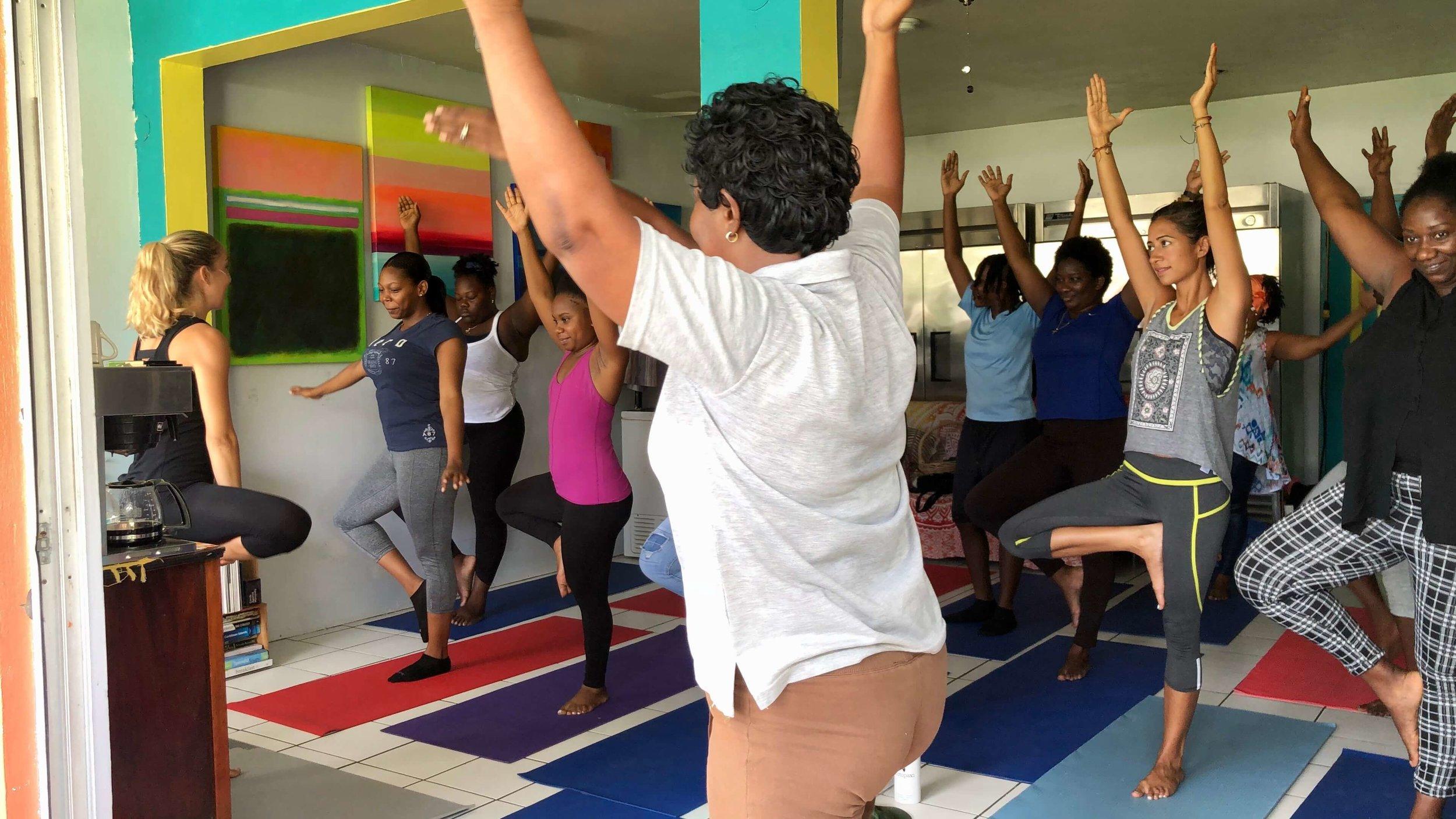Yoga on Fridays