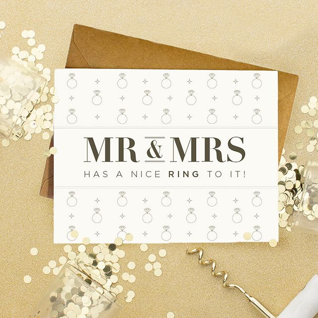 Wedding season isn't over yet my friends 😉 . . . #etsy #etsyseller #greetingcards #stationery #wedding #papergoods #papercrafts #stationeryaddict