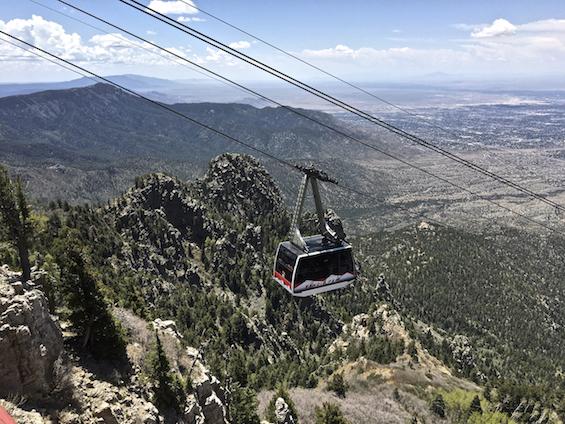 Sandia Peak Tramway ©Connie Bransilver
