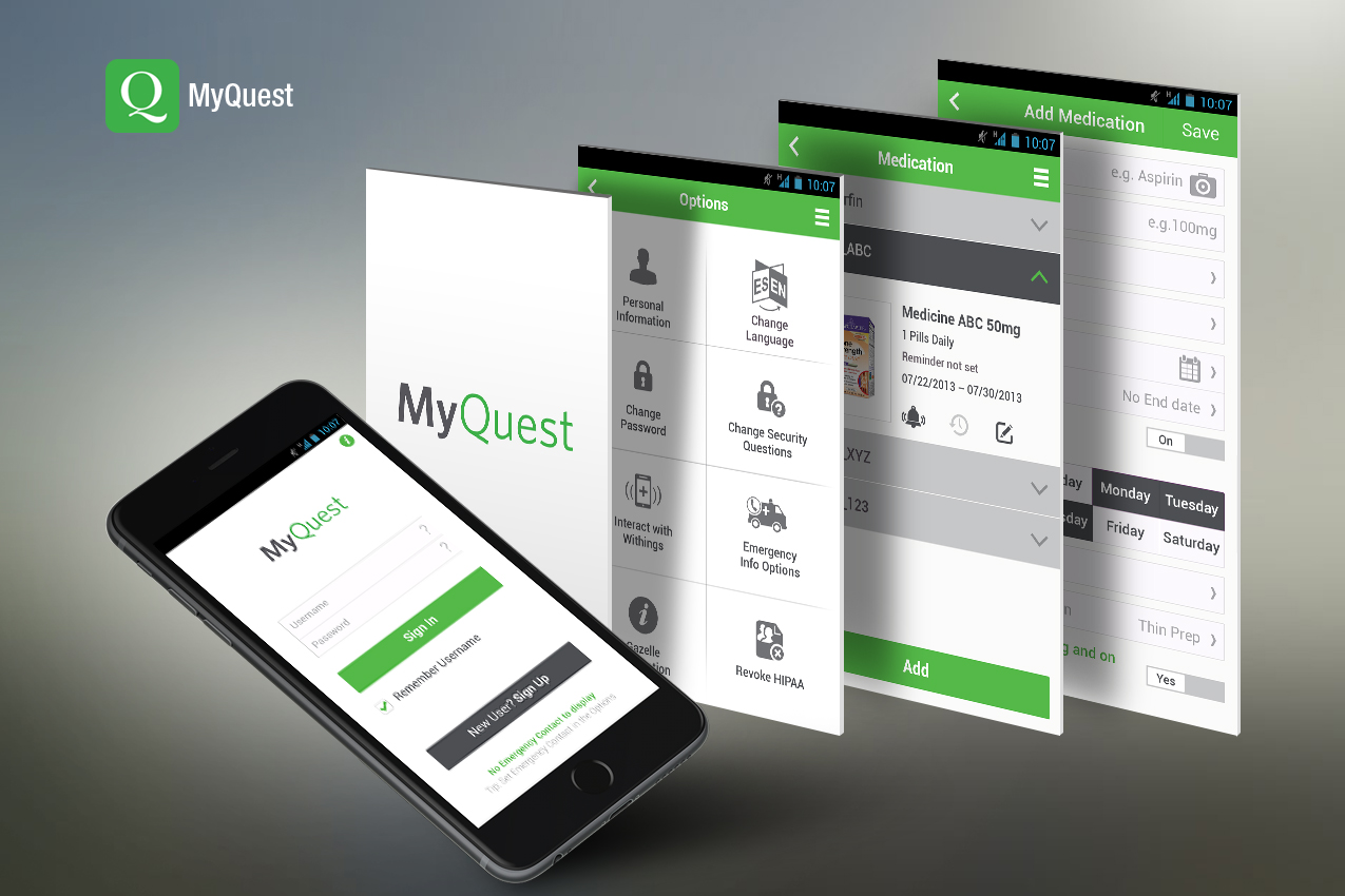 The MyQuest by Care360 app was the target of the data breach. 34,000 patients' Protected Health Information was stolen.