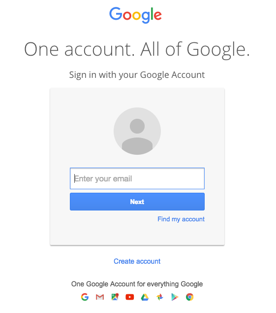 The page is designed to look exactly like the real Gmail login page.
