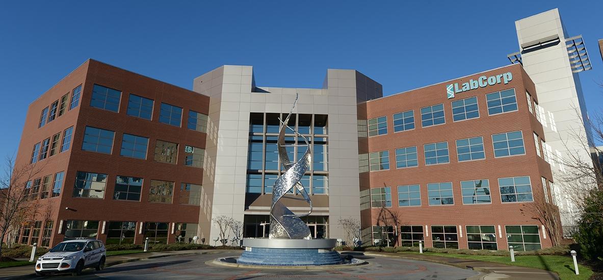 LabCorp Headquarters in Burlington, North Carolina