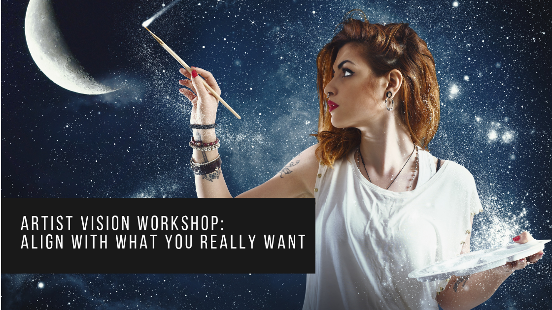 ***FREE workshop*** - This popular four-video workshop takes you through the process of figuring out what it is you really want as an artist. Download the workbook and set aside some time to work on your career. Sign up HERE.  Email Kristina at info@gettotheart.com with any questions.