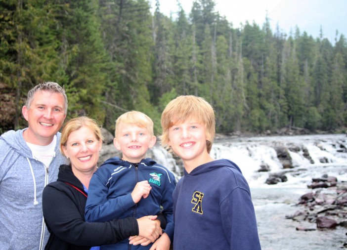 A St. Albert family escaped unscathed from shootout between RCMP and a suspect on the Yellowhead Highway. The altercation ended with one man dead and an RCMP officer injured.