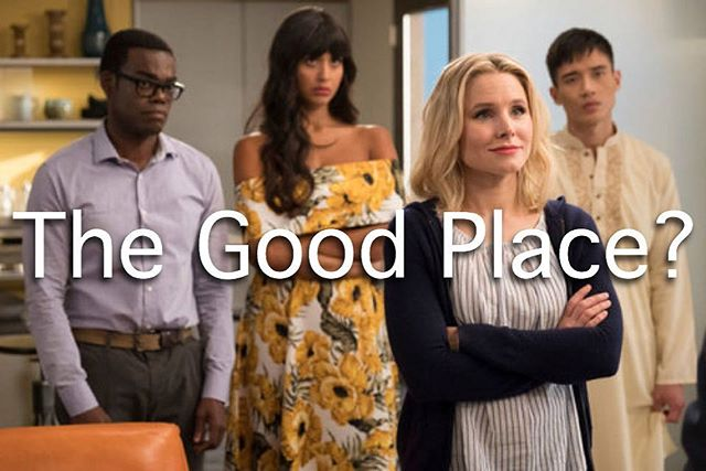 "NEW BLOG POST ""The characters in The Good Place were all great people while on earth. They took care of orphans, healed the sick and dying, cured diseases, etc. etc., but in the afterlife they find out they were still not good enough."" Read the rest on the blog!  Link in Bio"