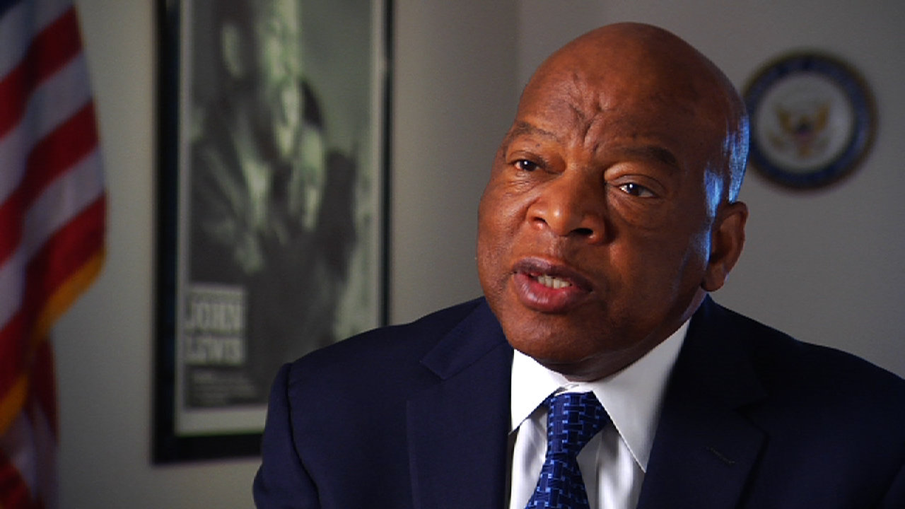 """Rep. John Lewis Rep. John Lewis was born into a family of Alabama sharecroppers in 1940. While attending Fisk University, he participated in sit-ins at segregated lunch counters in Nashville. He joined SNCC in 1961and was elected chairman two years later, a post he held until 1966. He was a leader of the Freedom Rides, helped to plan the 1963 March on Washington, and was at the head of 525 marchers when they were assaulted in Selma by state troopers on """"Bloody Sunday."""" In 1968, Lewis participated in a meeting of half-a-dozen civil rights groups that discussed the feasibility of creating a """"land trust program"""" in the South. He was elected to the Atlanta City Council in 1981 and to the U.S. Congress in 1986, where he continues to serve."""