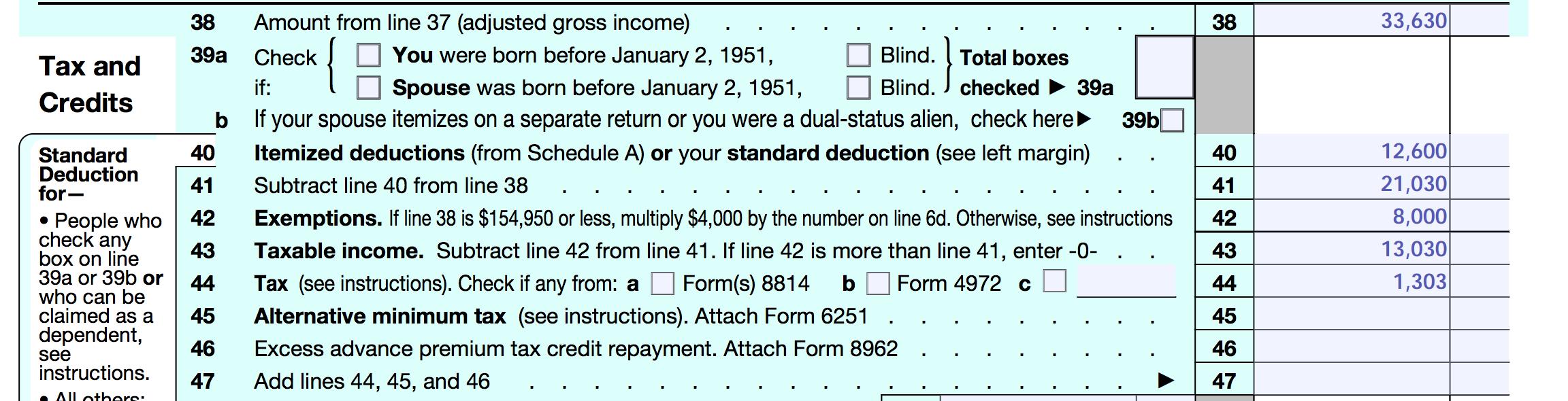 Pell Grants - Higher Tax