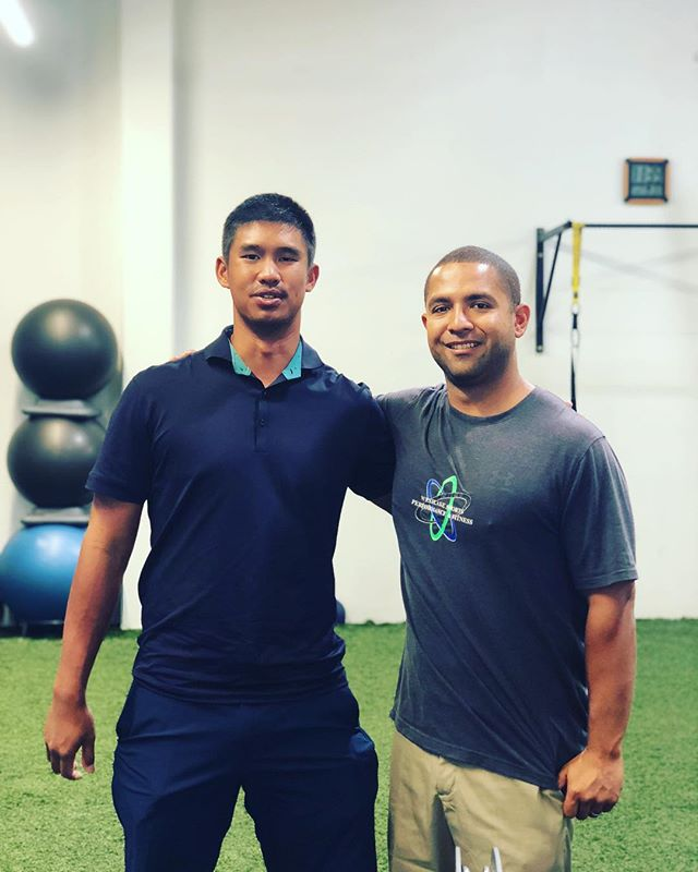 Yesterday, the #WSPFamily was so very saddened to hear news from China that one of our athletes had suddenly and very unexpectedly passed. We are shocked to have lost Arie at the young age of 28 and are sending so much love and prayer to his wife and family.  I was lucky enough to work with Arie on not only the strength side of his game but also the mental side. He was going through a rough patch so we decided to focus on what really mattered to him. The 3 core values Arie discovered were Love, Happiness and Inner-peace. He told me these were the 3 things he wanted in life.  I know he found his Love the day he married @marinamalek. We never had the chance to meet but Arie always had a bigger smile when he spoke of her.  Golf was always his Happiness. I never met someone who truly loved his craft and constantly wanted to work at it the way he did. I hope her knew how much his passion for golf helped people around him strive for more in their lives, myself included. Now that you are gone from us Arie, I hope you have found your Inner-peace. You will always be missed!