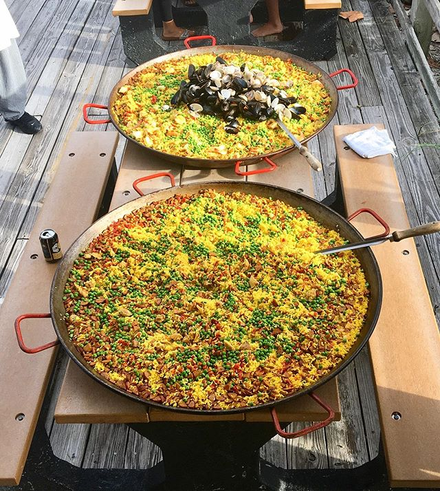 Paella Awaits! 🥘 The Ocean Kids End of Summer Party  Is THIS Friday! 🎈 Join us for paella, drinks & live jams by @sprout_music at the Lowdermilk Beach Pavilion 🎉 Friday, August 9 at 5:30pm     RSVP: Text 'PARTY' & '# of Guests' to 239-250-6508 🎈#OceanKidsCamp