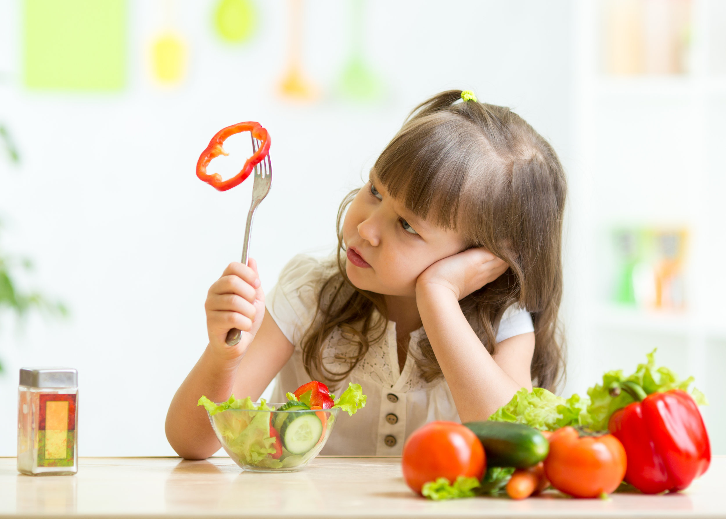 can't get your child to eat fruits and vegetables