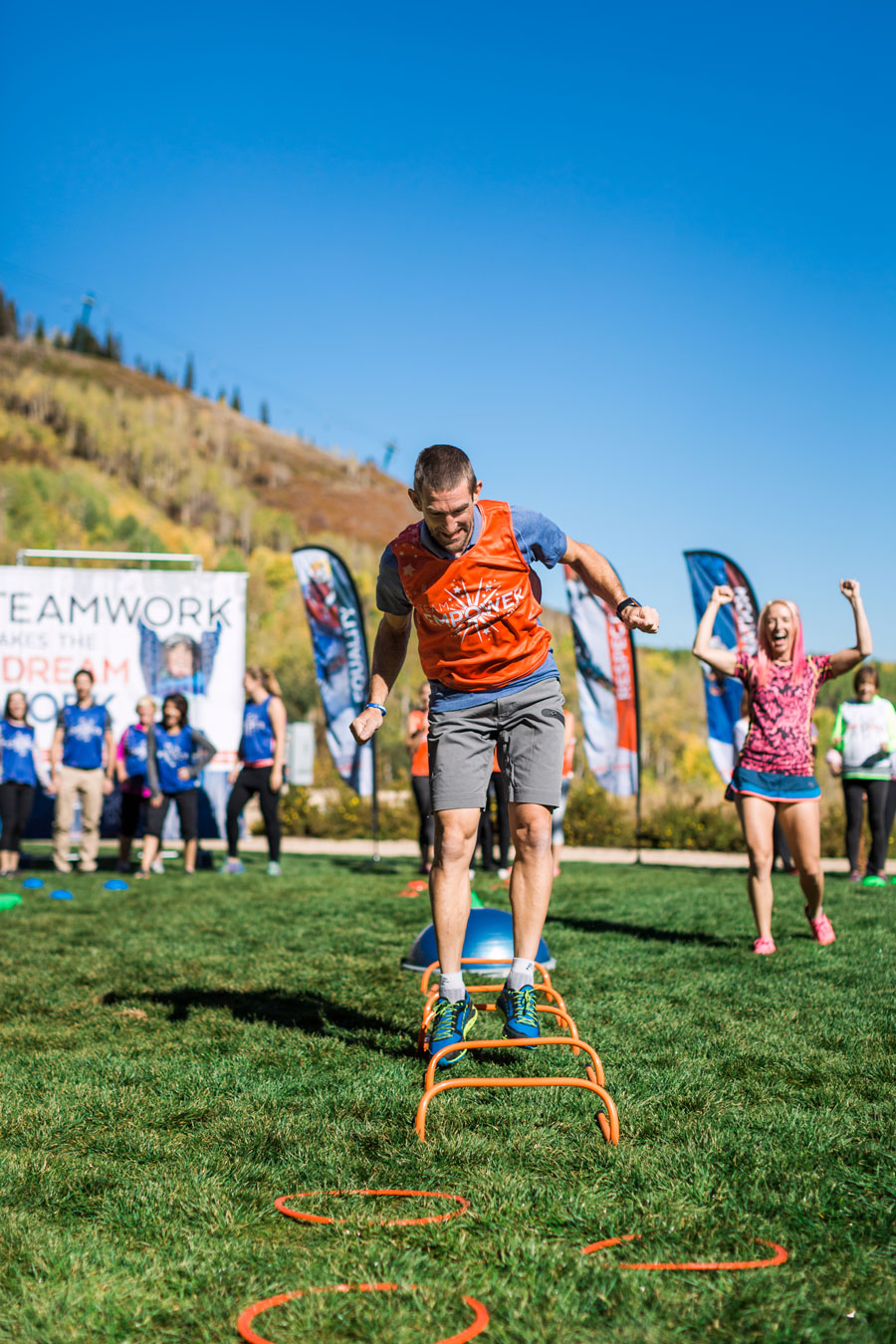 corporate team building led by an olympian in utah