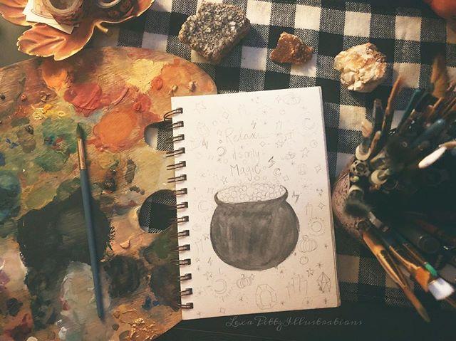 🖤🔮✨ • • • • • • • • #autumm#fall#pumpkins#halloween#leaves#instafollow#instahappy#instaphotography#photooftheday#picoftheday#followme#instadaily#instagood#autumn🍁#illustration#artist#witchesofinstagram#happyhalloween#photography#follow4follow#love#Witches#boiseartist#boiseidaho#idaho #autumnlovers#autumntrees#falltrees#pnw