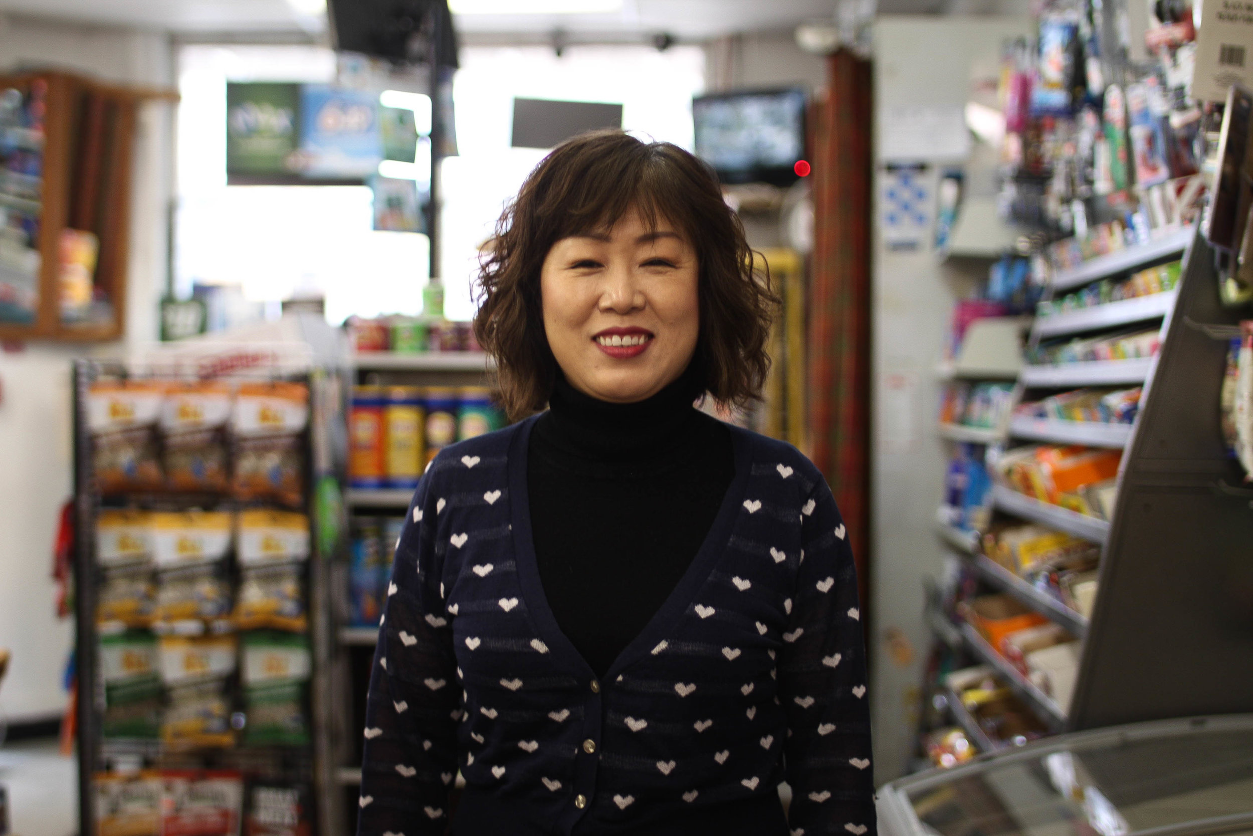 Mi Sun Seo, owner of Y-Not Foods on Ellice.