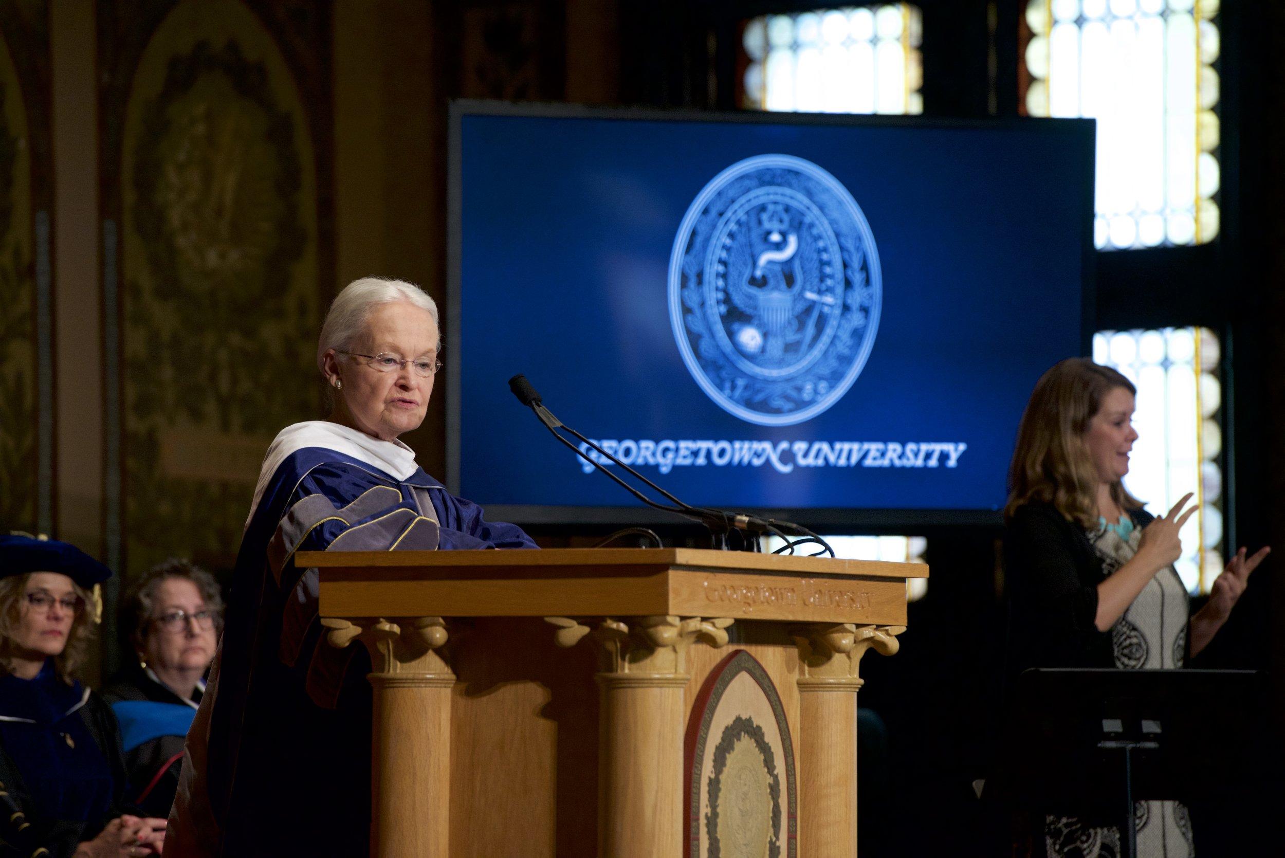 Photo courtesy of Rafael Suanes / Georgetown University