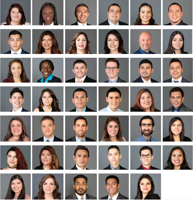 Inaugural class of The University of Texas at El Paso's School of Pharmacy.