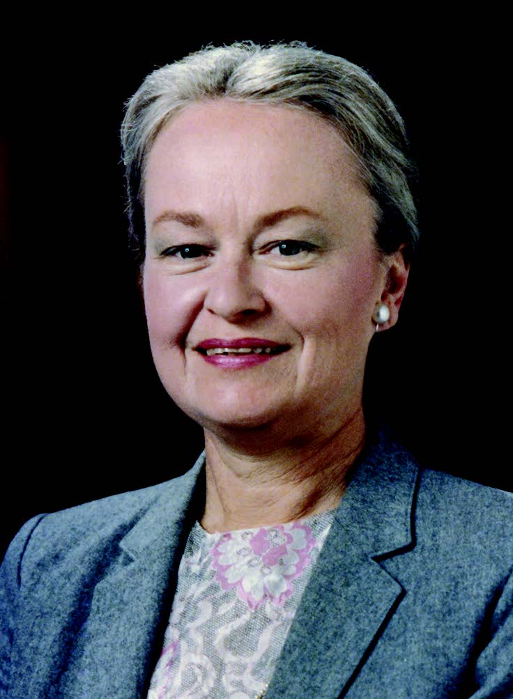Diana Natalicio is shown during her first year as President of the University. She was named to UTEP's top leadership spot in 1988.