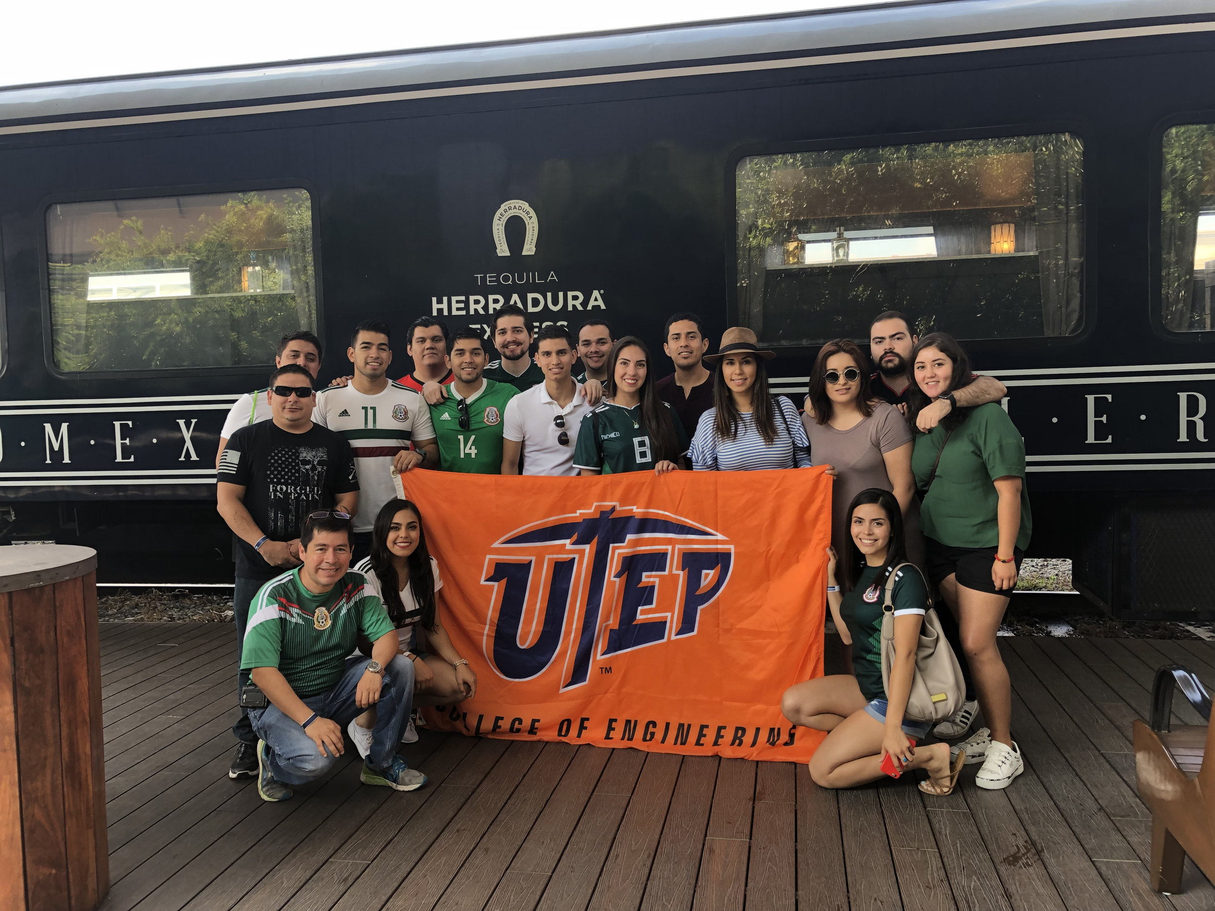 UTEP and UdeG students tour Tequila Herradura, a tequila distillery in Amatitán, Jalisco, Mexico. Photo courtesy of Daniel Mejia.