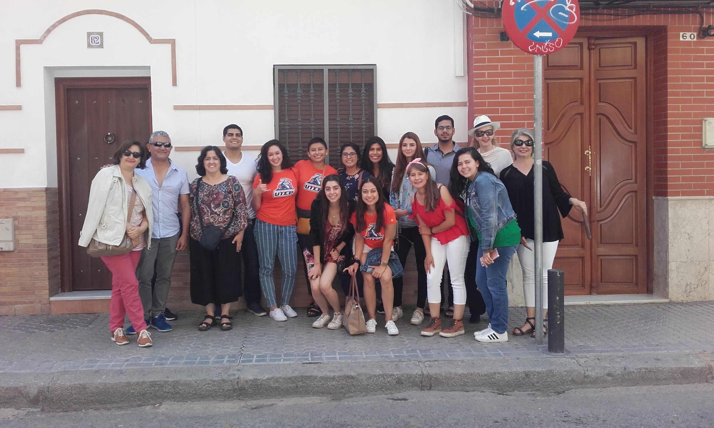 For the first time in 2018, faculty and students from education, health sciences and liberal arts traveled together to Seville, Spain, to study global health. Photo courtesy of Beverly Argus-Calvo