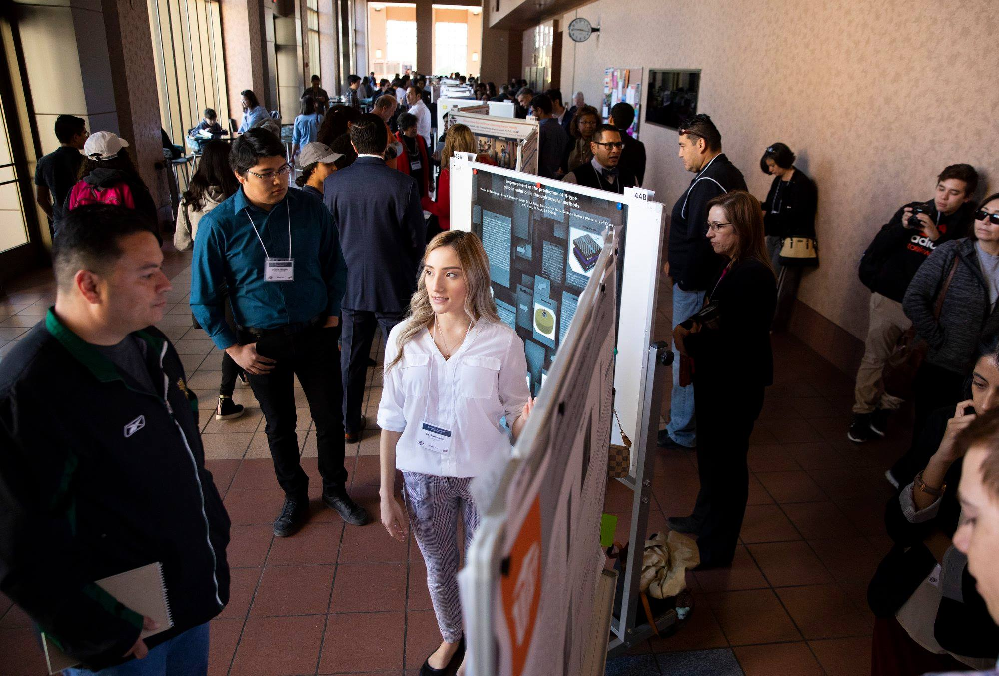 UTEP's Campus Office of Undergraduate Research Initiatives, or COURI, held its Spring Symposium on Saturday, April 13 in the Undergraduate Learning Center. It provided a unique opportunity for undergraduate researchers, scholars and artists to present and discuss their research with faculty, peers and the community.