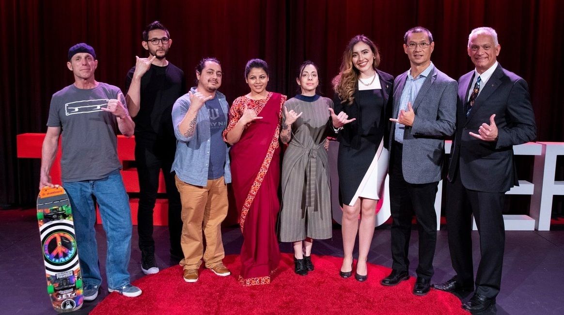 At UTEP's inaugural TEDxUTEP event, students, faculty, staff and alumni delivered inspiring talks to an enthusiastic crowd on Feb. 2, 2019 in Union Cinema.