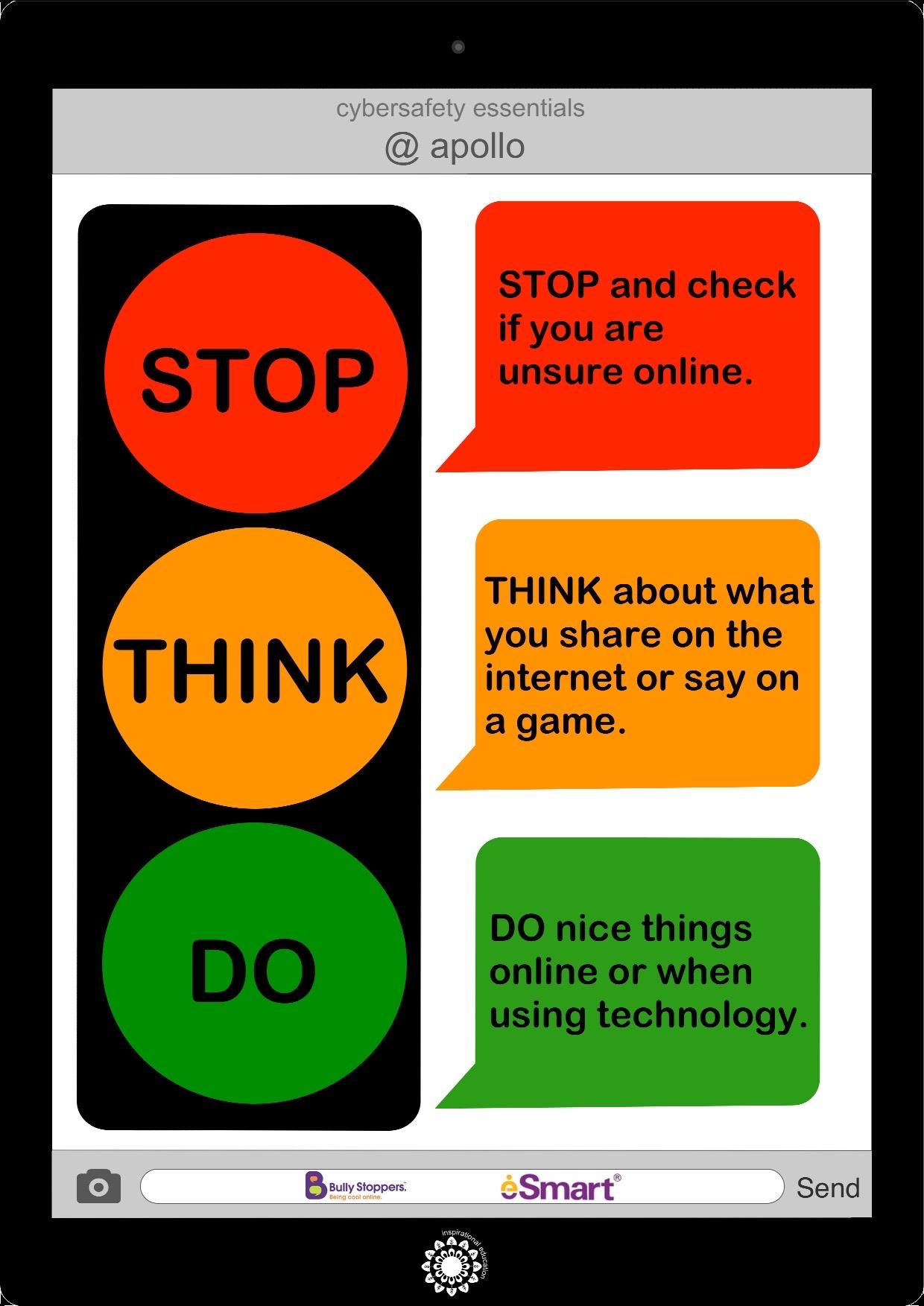 Cybersafety Essentials - whole school message